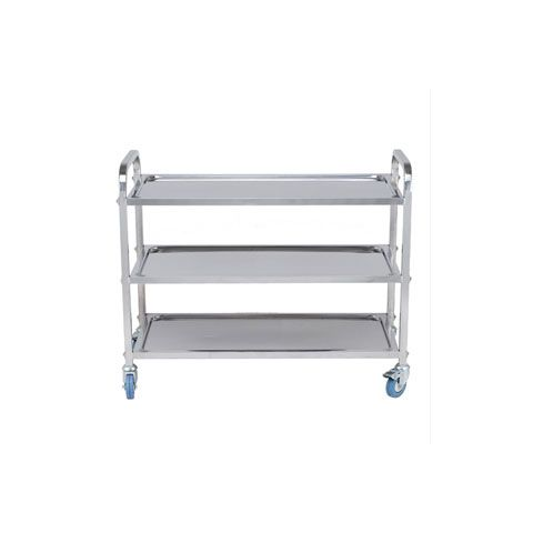 Stainless Steel 3 Tier Trolley TRS0003