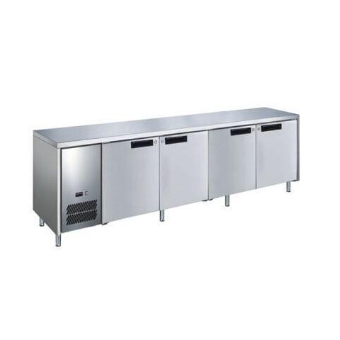 Glacian BCS62350 - 4 Solid Door Slim Under bench Fridge 2350 x 660mm