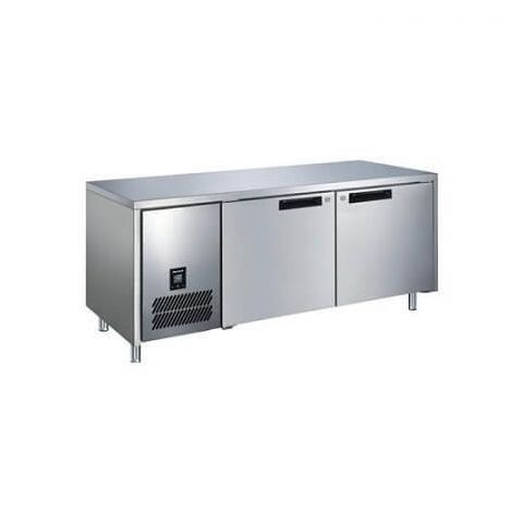Glacian BCS71815 - 2 Solid Door Under bench Fridge 1814 x 760mm