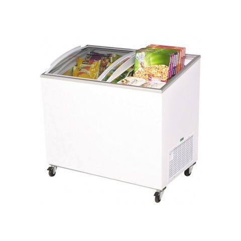 Bromic CF0300ATCG Curve Glass Chest Freezer