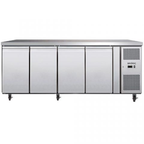 Bromic UBC2230SD 4 solid Door Bench Fridge
