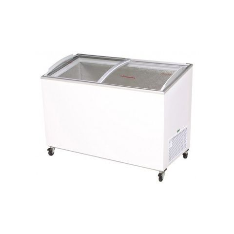 Bromic CF0400ATCG Curve Glass Chest Freezer