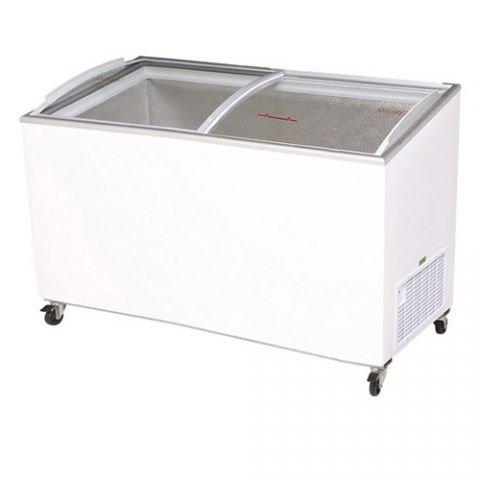 Bromic CF0500ATCG Curve Glass Chest Freezer