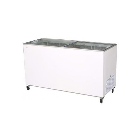 Bromic CF0500FTFG Flat Glass Chest Freezer