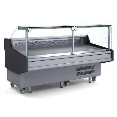 Bromic DD0250SG Square Glass Deli Display