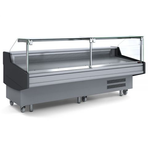Bromic DD0300SG Square Glass Deli Display