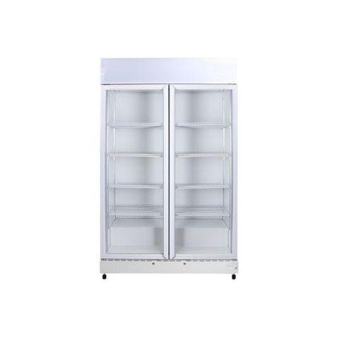 Bromic GM1000L ECO Flat Glass Door LED Upright Chiller - 960 Litre