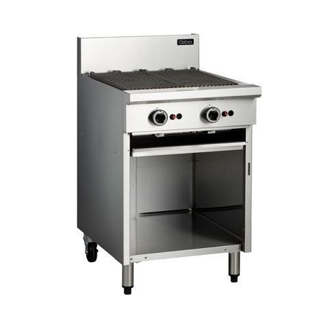Cobra CB6 Gas BBQ 600mm On Open Cabinet Base