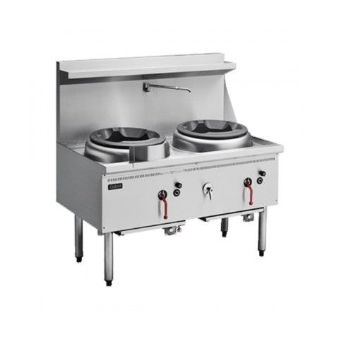 Cobra CW2H Gas Waterless Wok - 2 Burners