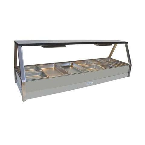 Roband E26/RD Double Row Hot Food Display - 2005mm