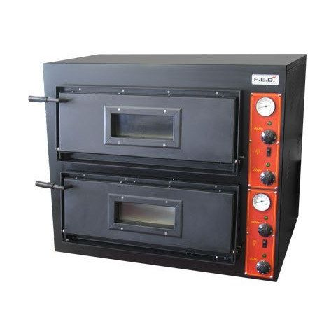 F.E.D. EP-2 Black Panther Double Deck Pizza Oven