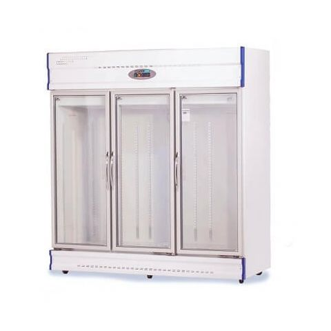 Anvil GDJ1881 Three Glass Door Freezer