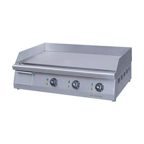 F.E.D. GH-760 Double Control Electric Griddle/Hotplate - 760mm