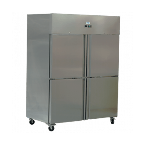Exquisite Double Door Stainless Steel Freezer GSF1412H - 1497 litres