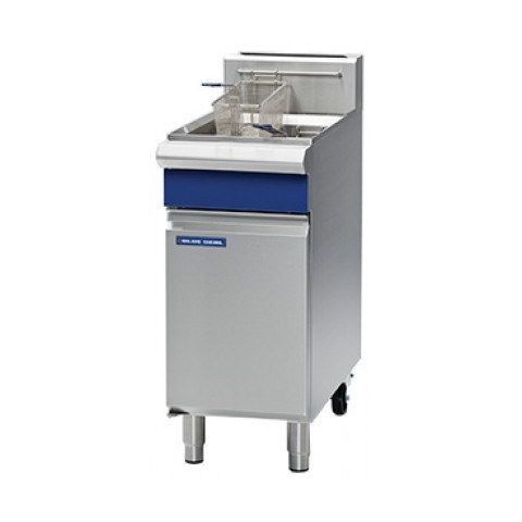 Blue Seal GT18 Single Gas Fryer - Mechanical controls