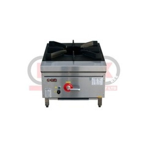 LKK-1BSP Waterless Single Burner Low Profile Gas Wok Cooker