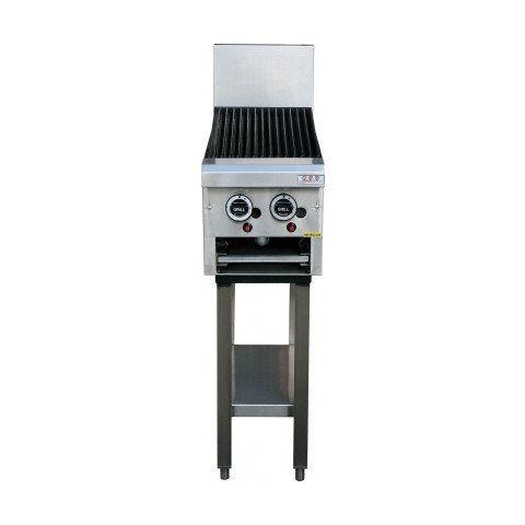LKKCG3-2 2 Burner Gas Char Grill - 300mm