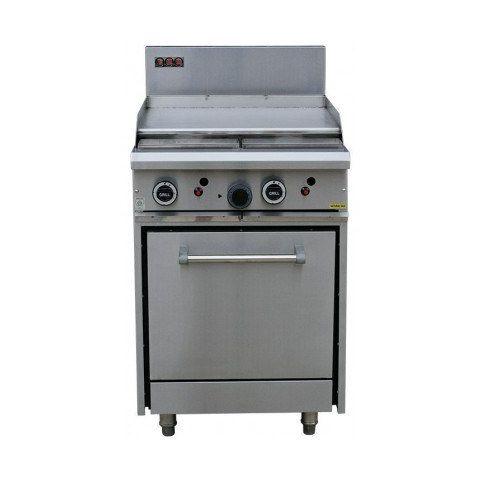 LKKOB4B+O Griddle Hotplate + Static Oven