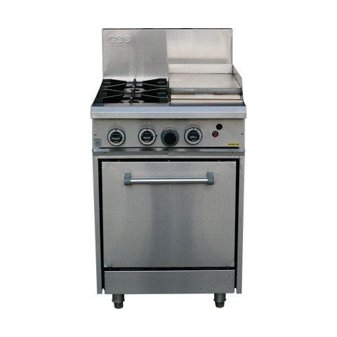 LKKOB4C+O 2 Gas Open Burner Cooktop + Right Grill