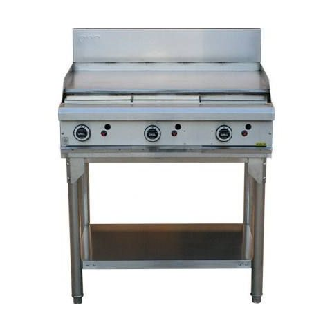 LKKOB6A 3 Burner Griddle Hotplate