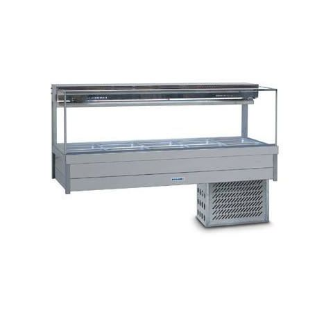 Roband SRX25RD Square Glass Cold Food Bar