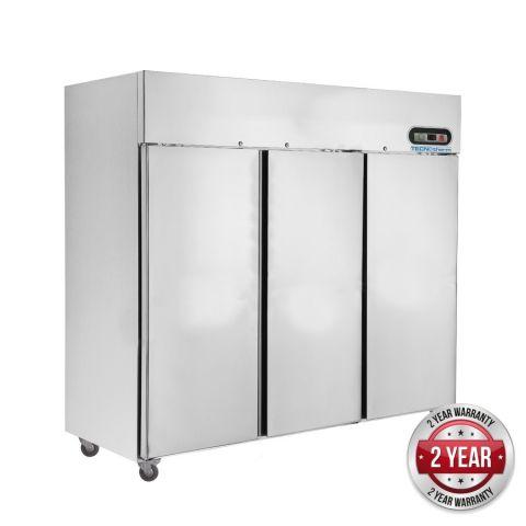 FED SUF1500 3 Door Stainless Steel Upright Freezer 1500L