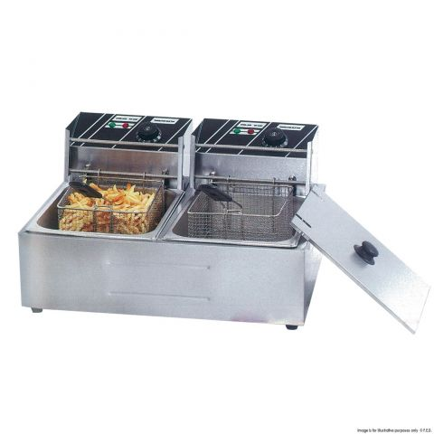 Double Tank Electric Fryer TEF-82KW