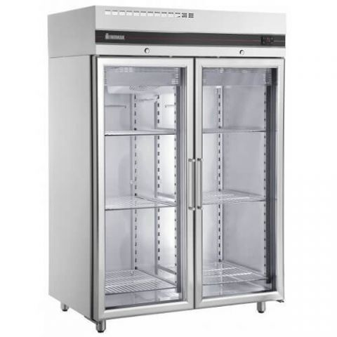 Inomak UFI1140G Double Glass Door Fridge