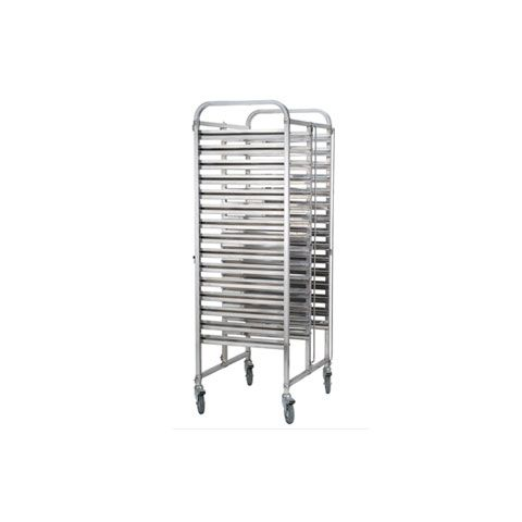 Stainless Steel 2 x 15 Tier GN Trolley TRS2015