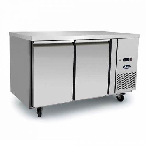 Atosa EPF3462 - 2 Solid Door Underbench Freezer 1360 x 700
