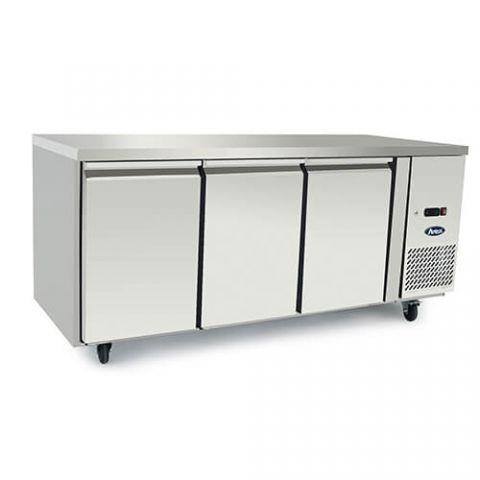 Atosa EPF3472 - 3 Solid Door Underbench Freezer 1795 x 700