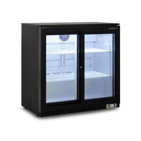 Bromic BB0200GDS Back Bar Chiller - 190 Litre (Sliding Door)