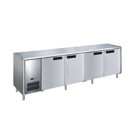 Glacian BCS62350 - 4 Solid Door Slim Under bench Fridge 2350 x 660mm