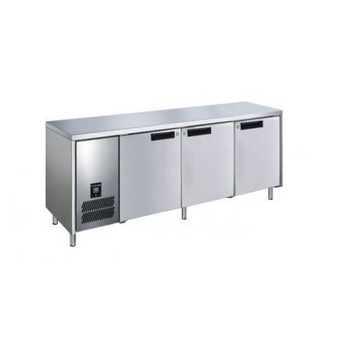 Glacian BCS72476 - 3 Solid Door Under bench Fridge 2476 x 760mm