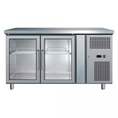Bromic UBC1360GD 2 Glass Door Fridge