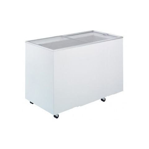 Bromic CF0400FTFG Flat Glass Chest Freezer