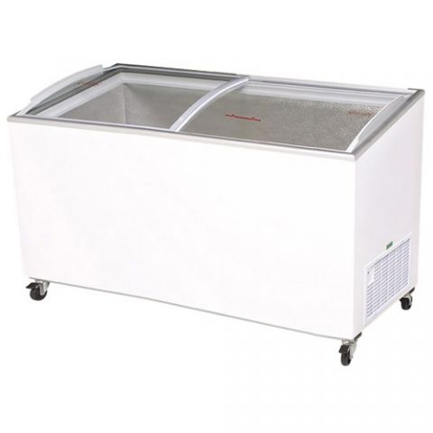 Bromic CF0600ATCG Curve Glass Chest Freezer