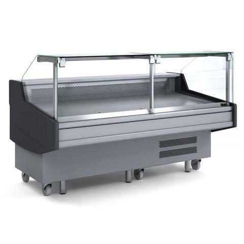 Bromic DD0250SG Square Glass Deli Display