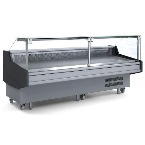 Bromic DD0300SG Square Glass Deli Display