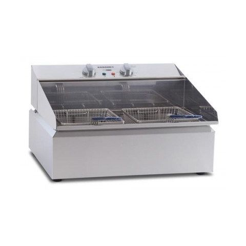 Roband Single Pan Frypod Double Basket Counter Top Fryer