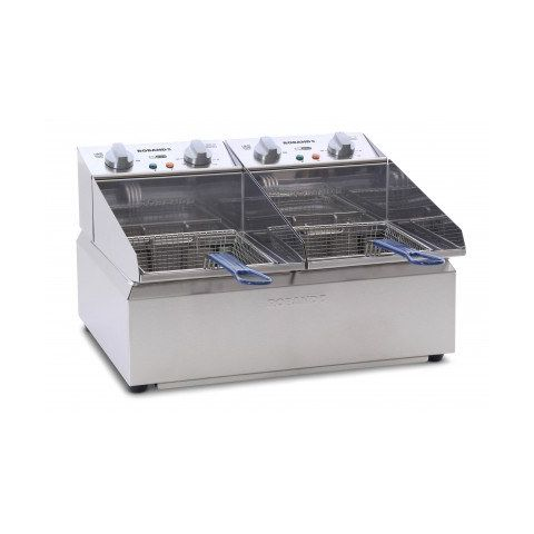 Roband Double Pan Frypod Counter Top Fryer