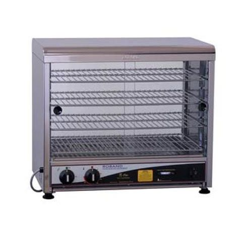 Roband PW100 Curved Top Pie & Food Warmer - 100 Pie Capacity