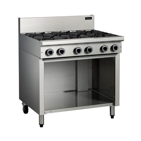 Cobra C9D/C/B/A Burner Gas Cooktops On Open Cabinet Base