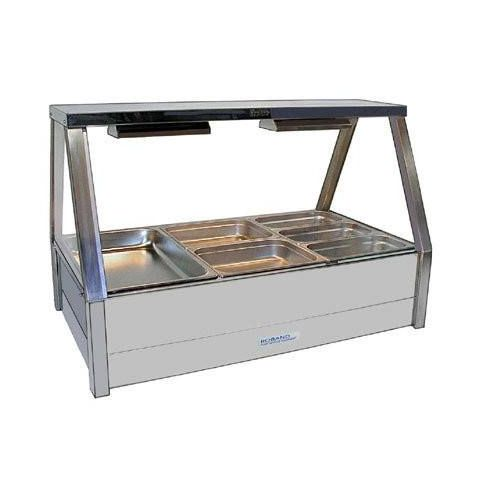 Roband E23/RD Double Row Hot Food Display - 1030mm