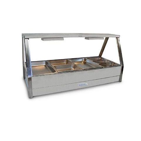 Roband E24/RD Double Row Hot Food Display - 1355mm