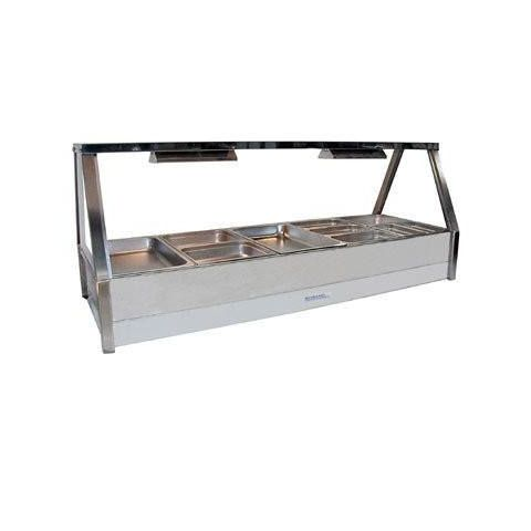 Roband E25/RD Double Row Hot Food Display - 1680mm
