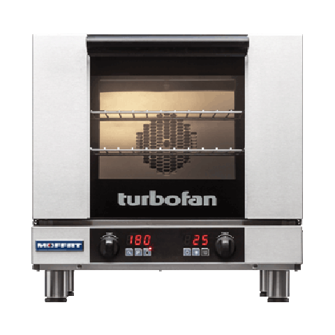 Turbofan E23D3 - 3 x GN 2/3 Digital Electric Convection Oven