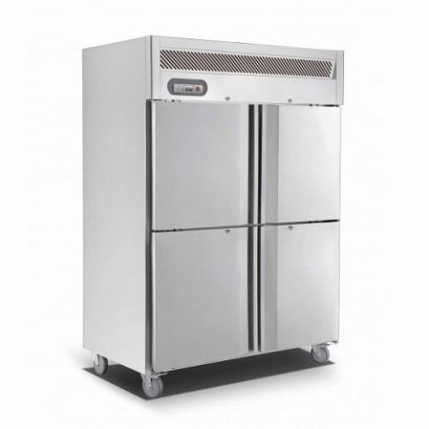 Saltas EUS1142 Double Door Upright Fridge