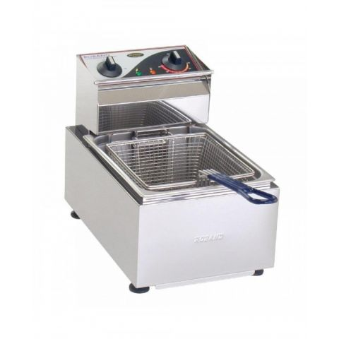 Roband Single Basket Counter Top Deep Fryer F15