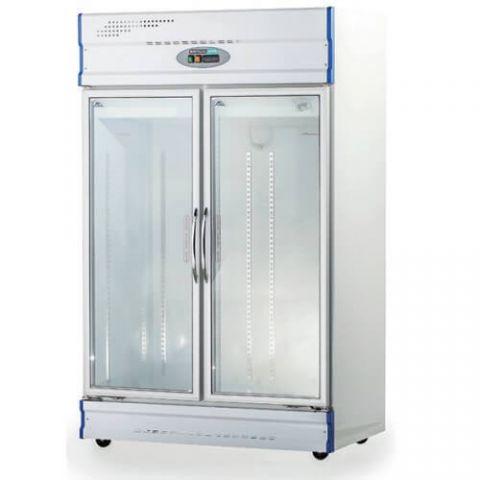 Anvil GDJ1261 Double Glass Door Freezer